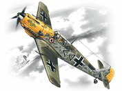 72134 Icm 1/72 Bf 109E-4 Wwii German Night Fighter