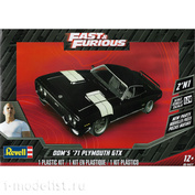 14477 Revell 1/25 Car '71 Plymouth GTX from k / f