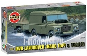 2324 Airfix 1/76 Lwb Landrover (Hard Top) and Trailer