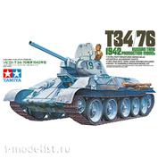 35049 Tamiya 1/35 Советский танк Т-34/76 обр.1942 года, с фигурой танкиста