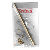N35061 Zedval 1/35 Set of parts for T-72 barrel without thermo casing