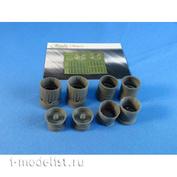 MDR7234 Metallic Details 1/72 Набор дополнений для MuG-29. Реактивные сопла (открытые)