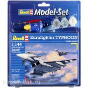 64282 Revell 1/144 Набор Многоцелевой истребитель Eurofighter Typhoon