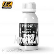 AK-759 AK Interactive WHITE PRIMER AND MICROFILLER 100ml (white ground)