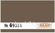 69034 Акан Земля коричневая; сухая окопы,блиндажи, землянки.
