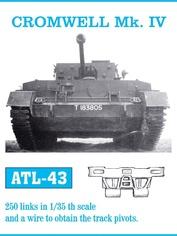 Atl-35-43 Friulmodel 1/35 Траки сборные железные для Cromwell Mk. IV