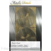 MD4841 Metallic Details 1/48 Фототравление в виде вращающегося винта, 56-55 мм