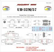 RVAC72011 R.V. AIRCRAFT 1/72 UB-32M/57