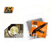 AK-220 AK Interactive Линзы прозрачные желтые AMBER 5mm