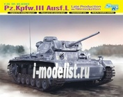 6387 Dragon 1/35 Pz.Kpfw.III Ausf.L Late Production w/Winterketten