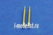48AB02 RB Model 1/48 Металлические стволы для 7,7mm Japanese MG Type 97, set of 2 barrels