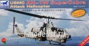 NB5049 Bronco 1/350 USMC AH-1W Super Cobra Attack Helicopter