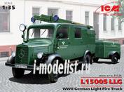 35526 ICM 1/35 L1500S LLG Германский легкий пожарный автомобиль II МВ