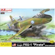 ADM7225 AZ Model 1/72 Vought F6U-1