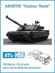 ATL-35-152 Friulmodel 1/35 Траки железные для ARIETE
