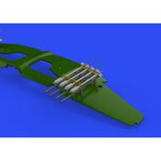 648641 Eduard 1/48 Набор дополнений Ракеты RP-3 60lb для Tempest Mk. II