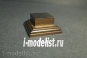 PL002 Plate Подставка для миниатюры (цвет каштан)