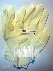 40901 ZIPmaket disposable Gloves, 3 pairs, size S