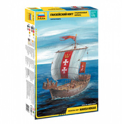 9018 Звезда 1/72 Средневековый корабль Ганзейский Когг