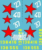 72005 ColibriDecals 1/72 Декаль для P-39D sky of Kuban