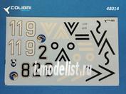48014 ColibriDecals 1/48 Декаль для Fw-190 A3 JG 51 part II