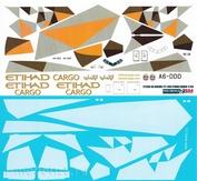 777200-05 PasDecals Decal 1/144 Scales at Boeng 777-200 Etihad kargo