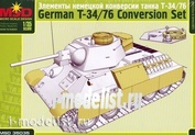 35035 Layout 1/35 Elements of German conversion tank T-34/76