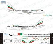 319-008 Ascensio 1/144 Декаль на самолет airbu A319 (Авкомпания Татрстан)