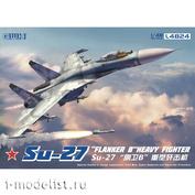L4824 Great Wall Hobby 1/48 Истребитель Su-27