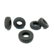 IM35017 Imodelist 1/35 Tires without wheels for K-4350. Option C (heavy load) plus spare wheel standard (round)