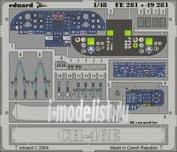 49281 Eduard 1/48 Фототравление для CH-46E interior