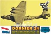 KBA35303 brigade Commander 1/350 Dornier Do 24 German Flying Boat, 1937 (1WL+1FH)