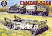 7260 Military Wheels 1/72 Танковый трейлер ChMZAP-5208