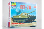 3015AVD AVD Models 1/43 Floating tank PT-76