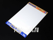 70175 Tamiya Пластик белый, толщина 1,5мм, размер В4 (364х257мм), 1 лист