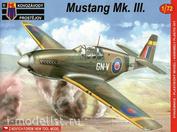 KPM0031 Kovozavody Prostejov 1/72 Mustang Mk.III RAF/RAAF