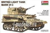 56009 Vulcan 1/35 British Light Tank MK.VI C