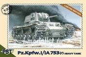 72036 Pst 1/72 Немецкий тяжелый танк Pz.Kpfw.I/IA753(r)