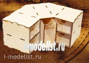 MWP-0010-08 WinModels Угловой модуль-органайзер на 5 ящичков