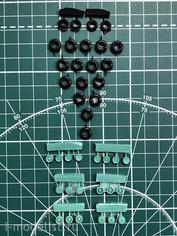 EQR14401 Экипаж 1/144 Резиновые колёса для Ил-76