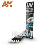 AK10043 AK Interactive Набор акварельных карандашей
