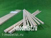 5110 СВмодель Рейки 4х4 мм, длина 300 мм, 10 шт, липа