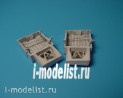 4174 Aires 1/48 a-1H Skyraider wheel bays add-on Pack