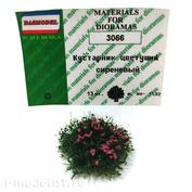 3066 DasModel 1/35 Кустарник цветущий вариант 4 (сиреневые), 13 шт.