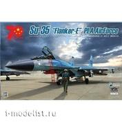 KH80128+ Kitty Hawk 1/48 Истребитель Su-35 (Chinese Air Force) с пилотом (Version 2.0)
