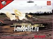 UA72192 Modelcollect 1/72 Fist of War WWII German 28cm Kanone 3 Auf Lastentrage