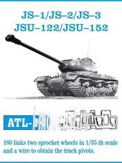 ATL-35-14 Friulmodel 1/35 Trucks scale (iron) for is-1/ is-2/ is-3/ ISU-122/ ISU-152