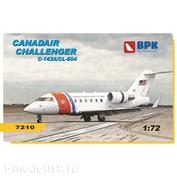 BPK7210 BPK 1/72 Пассажирский самолёт Challenger C-143A/CL-604
