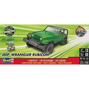11695 Revell 1/25 Jeep Wrangler Rubicon Car