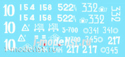 72038 ColibriDecals 1/72 Декаль для Т-34-85 (specially for the model T-34 ZVEZDA_5039)